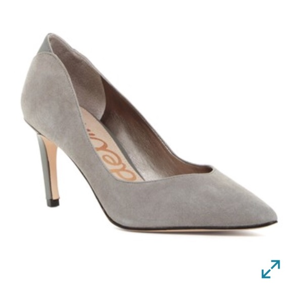 Sam Edelman Orella grey pumps size 8 nwb